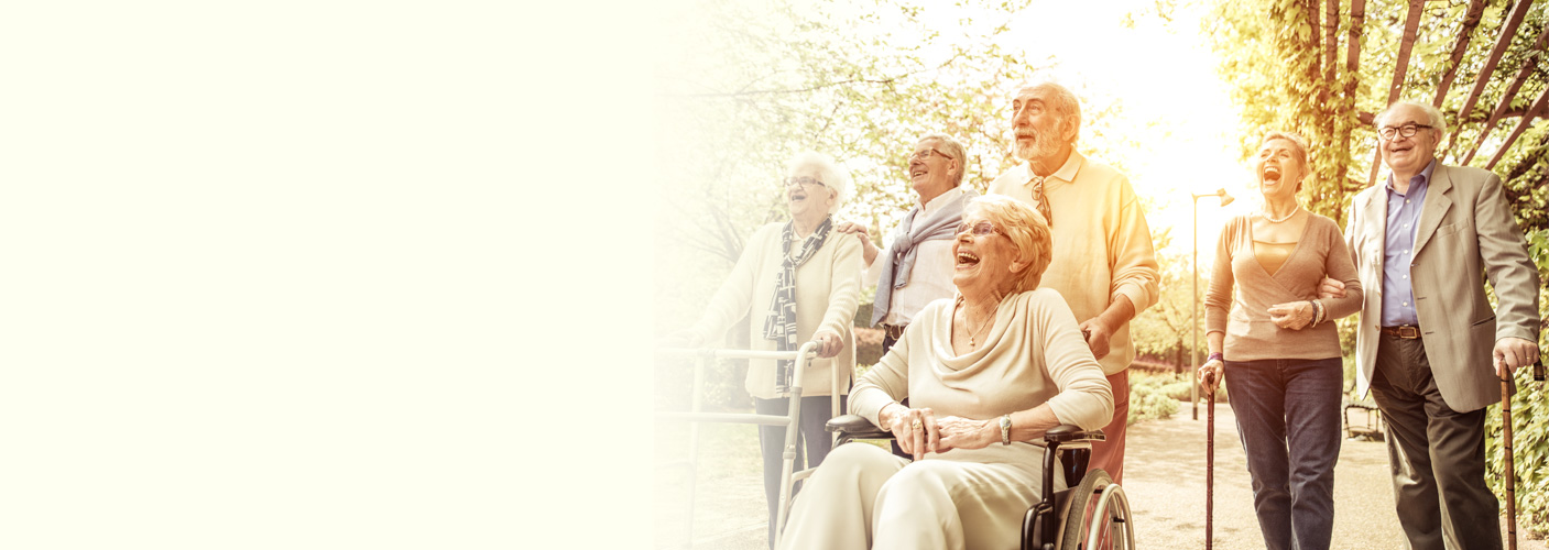 QCI Consulting Elderly happy banner image
